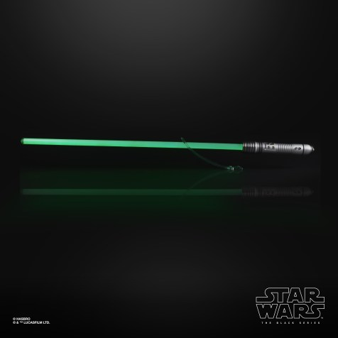 STAR WARS THE BLACK SERIES KIT FISTO FORCE FX LIGHTSABER (HASBRO/Ages 14 & up/Available: Spring 2020)
