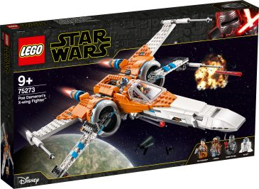 LEGO - 75273 Poe Dameron's X-Wing Fighter™ - $89.99 Let your youngster feel like Resistance hero Poe Dameron with this X-wing fighter (75273)! Fans will love the sleek new-for-January-2020 design, just like the X-wing in Star Wars: The Rise of Skywalker. It's got loads of play-inspiring features – adjustable wings for cruise and attack modes, shooting functions, retractable landing gear and more! Resistance vs. First Order battles! This cool starfighter comes with 3 minifigures – Poe Dameron, Knight of Ren, Jannah – with weapons, plus R2-D2 to inspire Resistance vs. First Order role-play. An epic gift idea for any young Star Wars™ fan, this construction playset is great for solo or group play and add the 75272 Sith TIE Fighter for even more action. Star Wars action in LEGO style! The LEGO Group has been creating brick-built versions of iconic Star Wars starfighters, vehicles, locations and characters since 1999. It's become a hugely successful theme with a fantastic variety of sets to thrill fans of all ages – so join in the fun! Shop now at LEGO