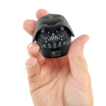 BITTY BOOMERS - Darth Vader Speaker - $19.99 Join the dark side with the Darth Vader Bitty Boomer! Bitty Boomers are wireless Bluetooth speakers that are ultra-portable! Don't be fooled though, what they lack in size they make up for with mind-blowing sound. Tiny size. Huge Sound. Sync 2 speakers together for extra boom! Shop now at Bitty Boomer: https://www.bittyboomers.com/best-sellers/darth-vader/
