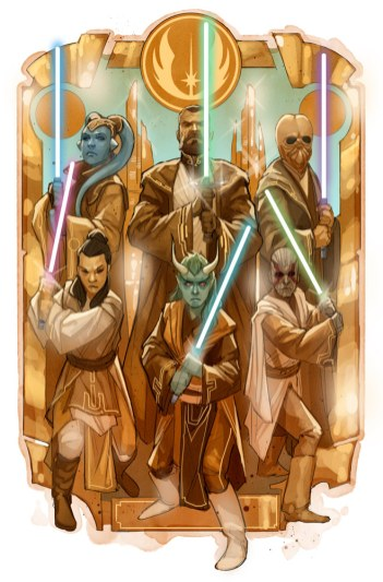 Star Wars: The High Republic concept art. (Copyright Language: © Lucasfilm Ltd. & TM. All Rights Reserved)