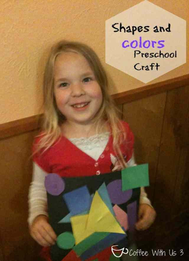 Preschool Shape and Color Craft