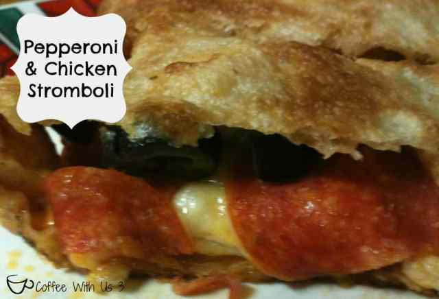 Pepperoni & Chicken Stromboli by Coffee With Us 3