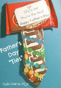 Give him a tie he will actually like this Father's Day!! | Father's Day | Candy | Tie |