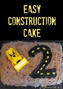 Easy Construction Cake