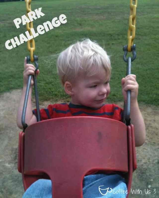 Park Challenge & Family Treasure Box by Coffee With Us 3 / Our easy plan for summer fun #kids #crafts