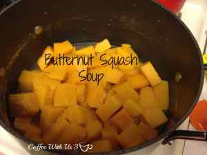 Butternut Squash cooked