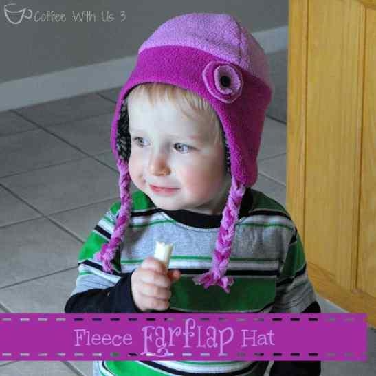 fleece earflap hat