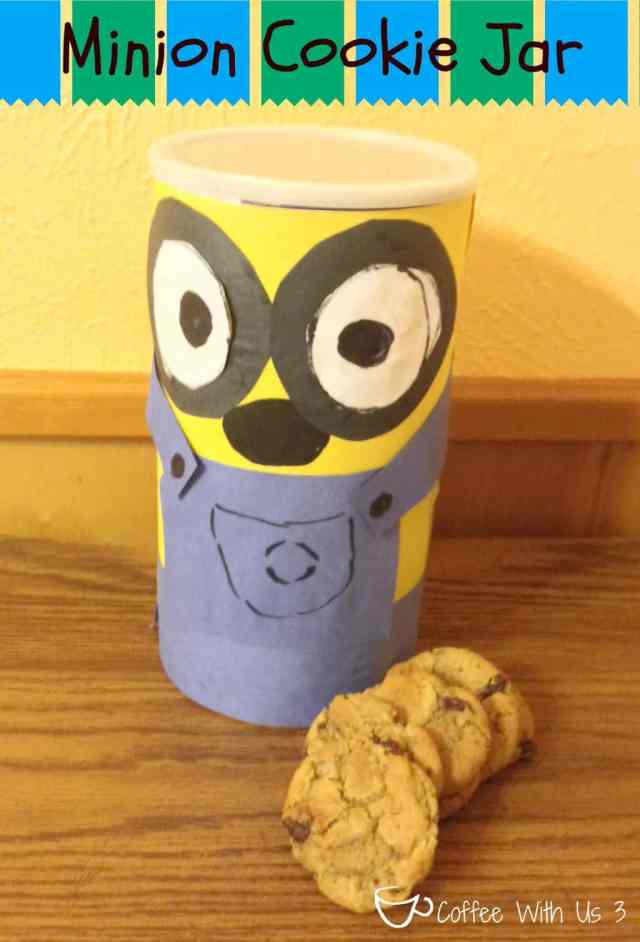 Minion Cookie Jar - Kids Craft