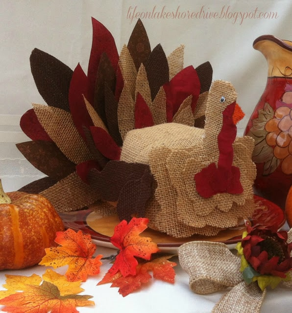 burlap turkey