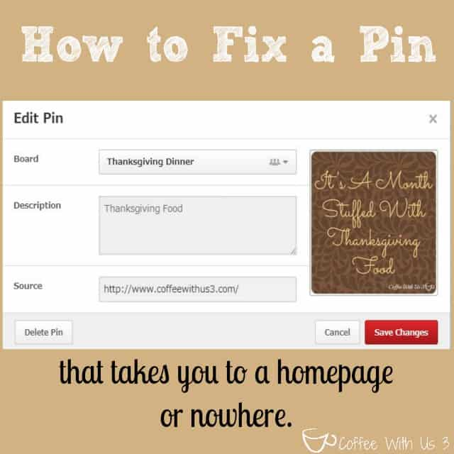 How to Fix a Pinterest Pin