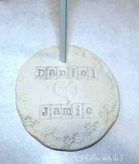 Homemade Keepsake Ornaments by Coffee With Us 3