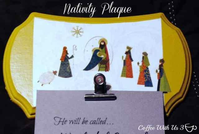 Nativity Plaque