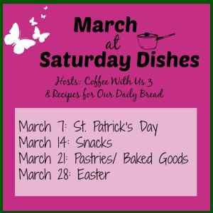 Saturday Dishes March