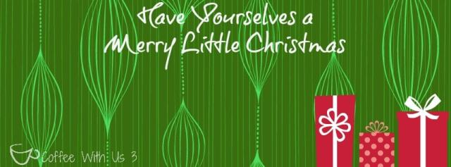 Merry Little Christmas Facebook Cover