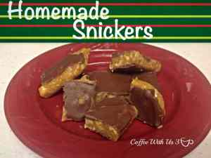 Homemade Snickers by Coffee With Us 3 / Grandma's specialty