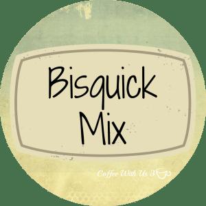 Bisquick Mix label