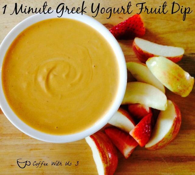 1 Greek Yogurt Fruit Dip