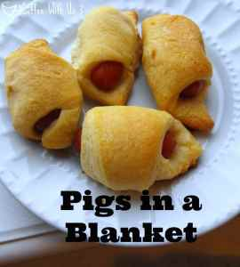 The easiest Pigs in a Blanket Appetizer