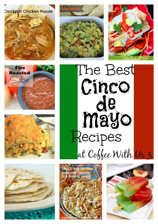 The best Mexican and Tex-Mex Recipes for Cinco de Mayo! | cinco de mayo | Mexican | recipes |