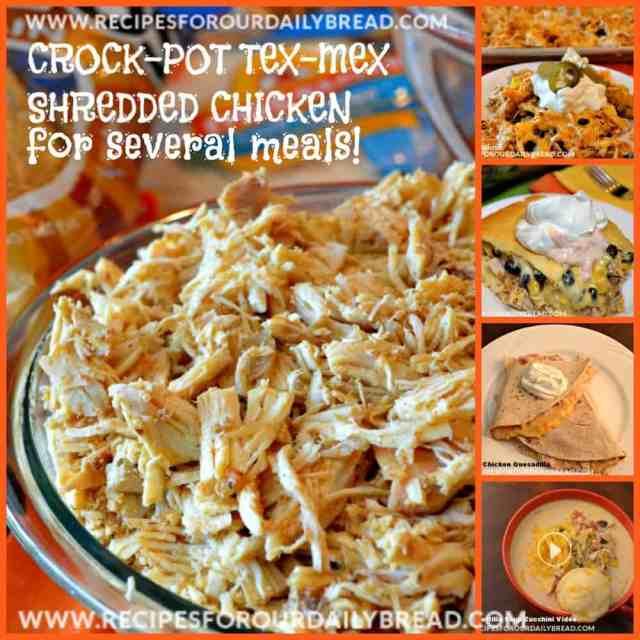 Crockpot Tex-Mex Chicken