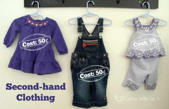 Can you believe how cheap these clothes were? #secondhandclothing #savingmoney