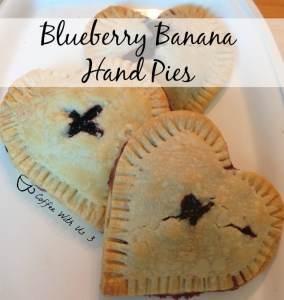 Blueberry Banana Hand Pies