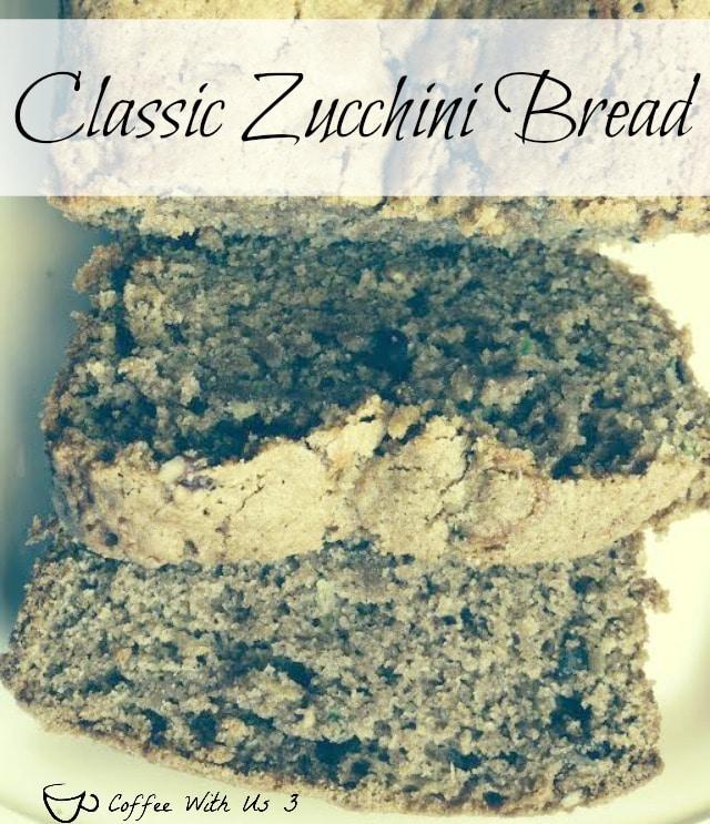 classic zucchini bread - a basic moist zucchini bread with great flavor