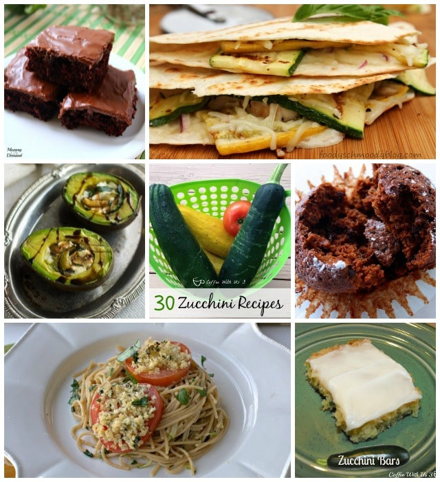 30 Zucchini Recipes from some of the best food bloggers. Great ways to use some of your summer harvest.