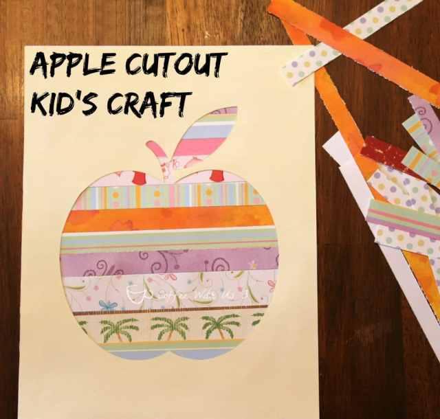 Apple Cutout Kids Craft3