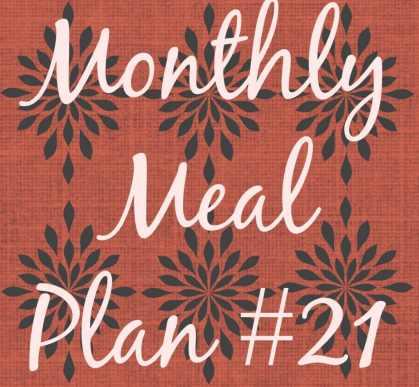 Meal plan #21
