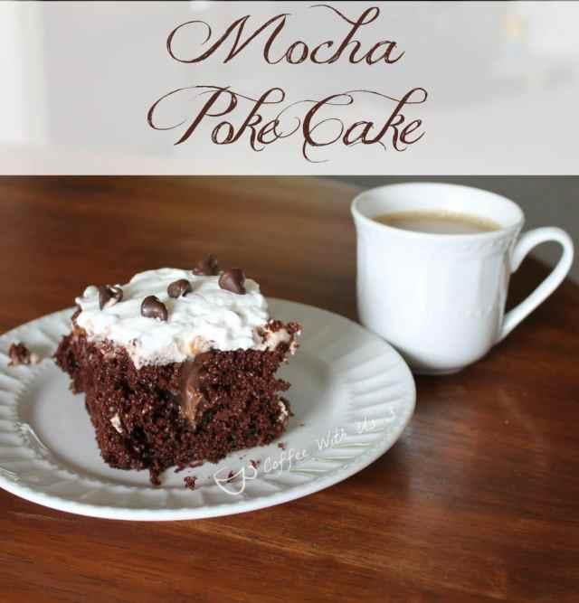 Mocha Poke Cake