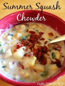 Summer squash chowder