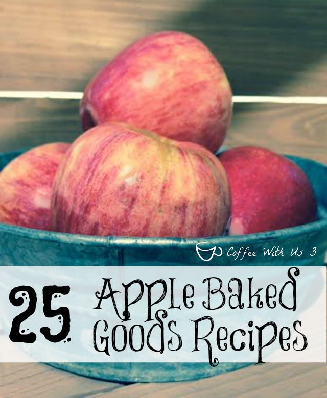 25 Apple Baked Good Recipes: Pies, cupcakes, breads, & much more from some of the best bloggers