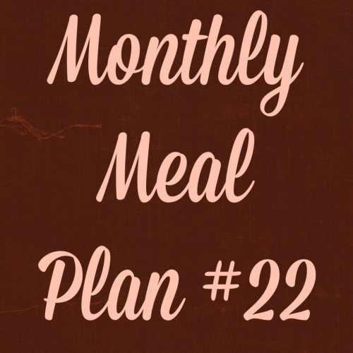Meal plan 22