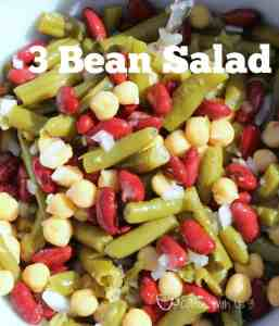3 Bean Salad Close-up