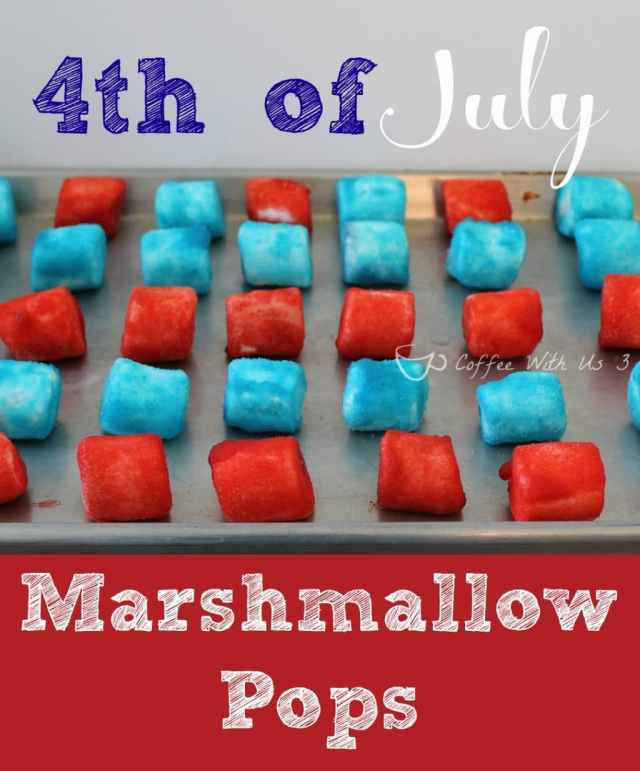 4th of July Marshmallow Pops3