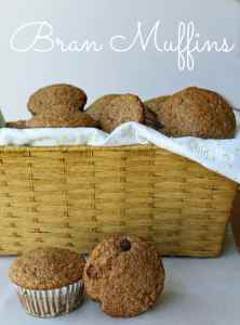 Delicious, light & fluffy bran muffins. Hearty and filling, and a perfect for breakfast on the go!