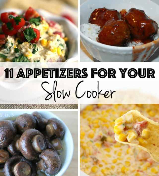 Slow cooker appetizers work well for freeing up your time while still creating fabulous dishes for your party!