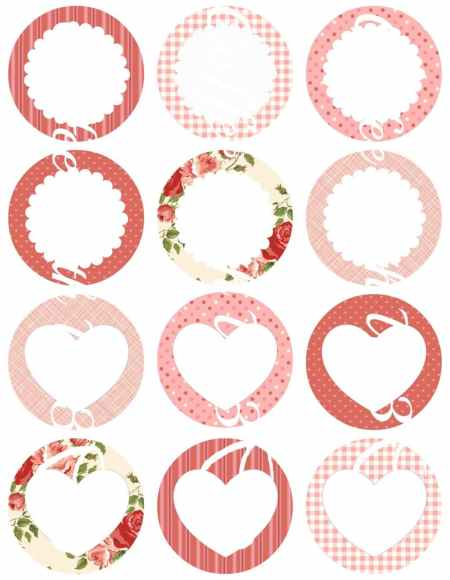 Free Valentine's Day Printables - Canning Jar Labels