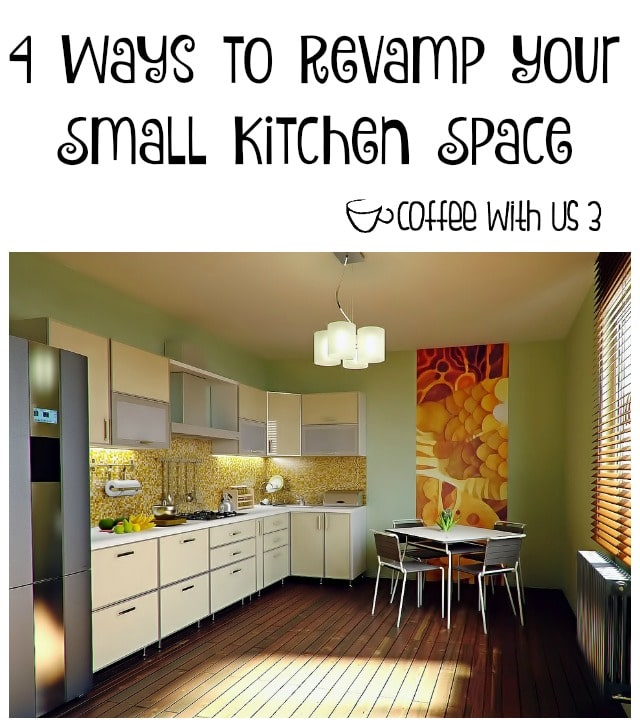 4 Ways To Personalize Your Kitchen Cabinets: 4 Ways To Revamp Your Small Kitchen Space