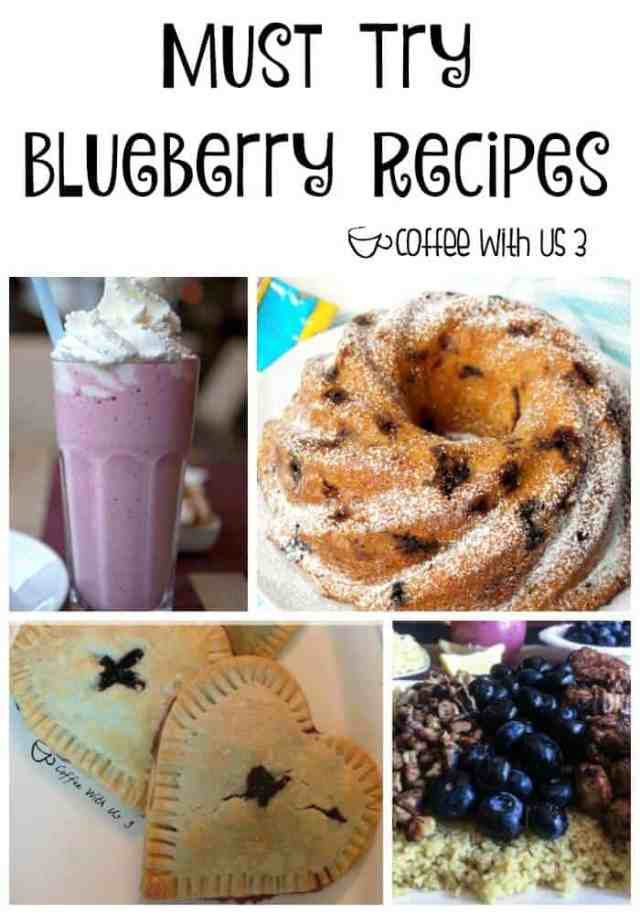 Over 50 Blueberry recipes you've got to try!  So good!!