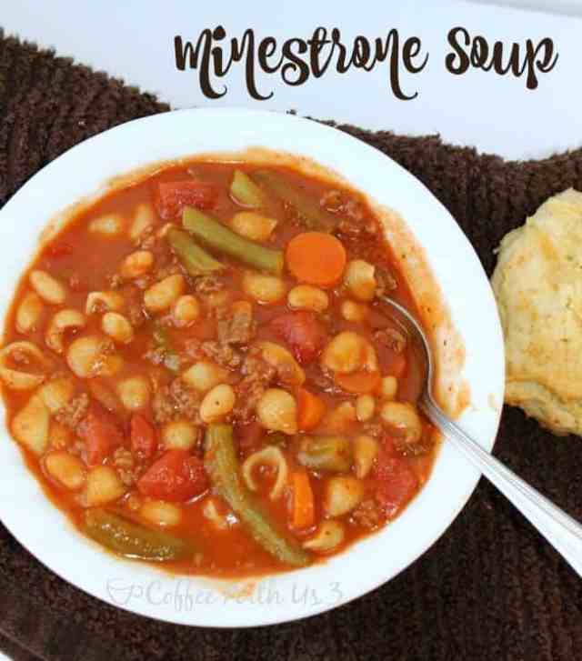 how to make minestrone soup recipe