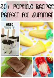 30+ amazing popsicle recipes! Perfect for the whole family to enjoy all summer long!