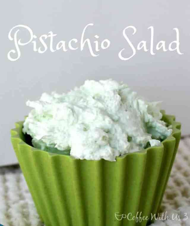 Just 5 minutes and 3 ingredients for this fluffy, delicious Pistachio Salad!