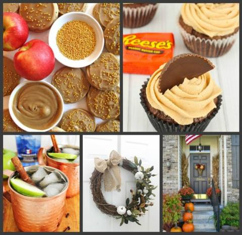 Welcome to Pretty Pintastic Party #176 & the weekly features, sweet treats and beautiful fall decor.