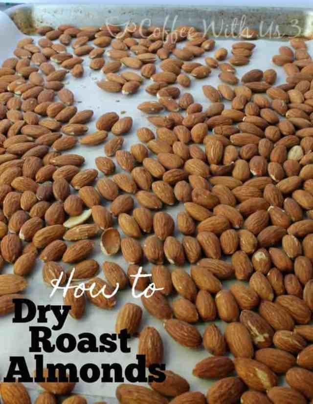 How to Dry Roast Almonds | Coffee With Us 3 - Dry Roasted Almonds are a healthy, delicious snack, ready in just 20 minutes!