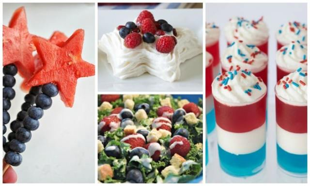 Patriotic salad and desserts, and more fun festive recipes for the Olympics