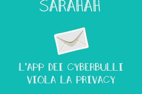 Sarahah, l'app dei cyberbulli