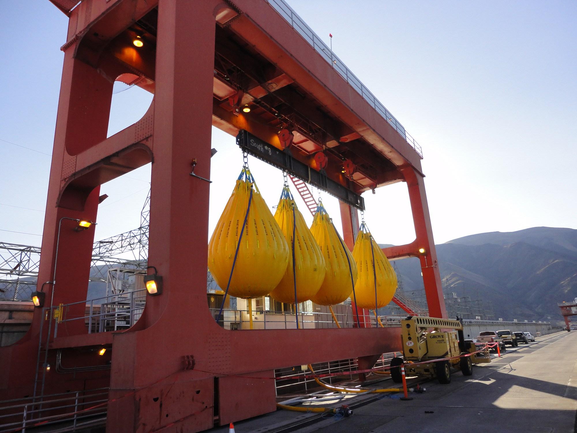 Priest Rapids Dam 390T Gantry Crane Modernization