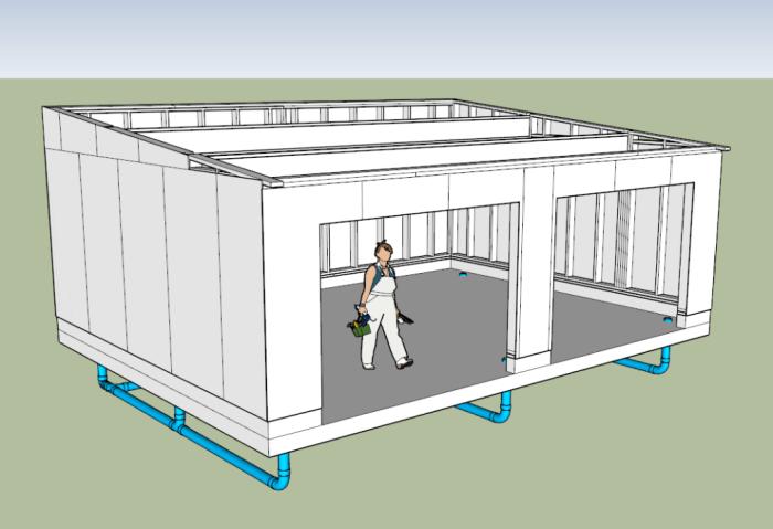 carport monopente